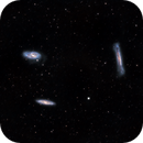 LEO TRIPLET M65, M66, NGC 3628,                                José Santivañez Mueras