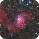 IC405 Flaming Star Nebula,                                J. Norris