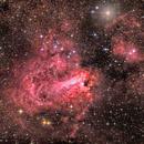"""nebulosa M17 """"omega"""",                                Rolando Ligustri"""