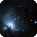 "Nébuleuse d'Orion ""NGC 1976"", M42-M43,                                Axel Debieu-Potel"