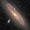 Great Andromeda Galaxy,                                Leo Shatz