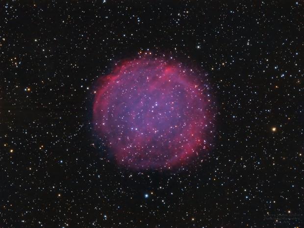 PuWe1 (Purgathofer-Weinberger 1) Planetary Nebula,                                Jerry Macon