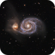 M 51 - The Whirlpool Galaxy,                                ErklueAstro