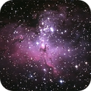 M16 - Nébuleuse de l'Aigle,                                Astroluc63