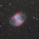 M27 LRGB - 28 Aug 2019,                                Geof Lewis