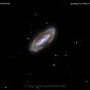 ngc3675 galassia nel leone                                                    distanza 55 milioni  A.L.,                                Carlo Colombo
