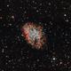 M1 Crab Nebula,                                Jamee Donithan