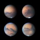 The 4 corners of Mars 2020,                                Niall MacNeill