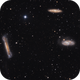 The Leo Triplet (M65, M66, and NGC 3628),                                Wintyfresh