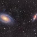 Ursa Major galaxy Ballet - M81 and M82  and the IFN,                                Arnaud Peel