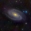 Bode's Nebula (Messier 81),                                Miles Zhou