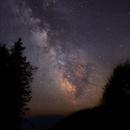 Summer Milky Way on the Hohen Dirn,                                Wolfgang Zimmermann