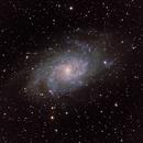 Triangulum galaxy,                                Jussi Kantola