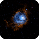 M8 The Lagoon Nebula,                                qcernie
