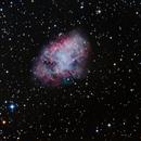 Crab Nebula Messier 1,                                Adrie Suijkerbuijk