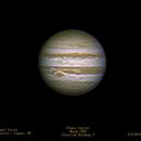 Planet Jupiter - GRS - Europa Moon,                                Fernando Roquel Torres