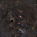 2 Frame Mosaic - Milky Way, M16, M17, M23,                                Oliver Czernetz