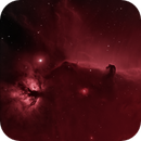 horsehead and flame nebula - a farewell to the winter sky,                                equinoxx