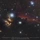 Horsehead & Flame Nebulas : first light ASI183MC Pro,                                Christophe Perroud