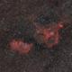 Heart and Soul Nebula  (IC1805, IC1848),                                Astro-Wene