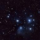M45 Pleiades,                                Deraux LeDoux