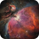 M42: imitation of HST image,                                Toshiya Arai