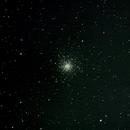 Messier 10 globular in Ophiucus,                                Moleculejockey