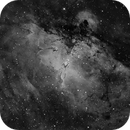 """First Light Image in H-Alpa using the William Optics 12"""" RC with the QHY600 Monochrome CMOS,                                Terry Hancock"""