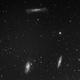 Leo Triplet M 65, M 66, NGC 3628 Hamburger,                                Milen Gogov