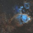 The Fish Head Nebula - IC 1795 - narrowband,                    Simon