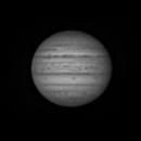 Jupiter - Red filter - 01/10/2021,                                Umberto Belladelli