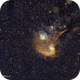 IC 405 Complex in Cephus wide field,                                Francois Theriault