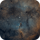 IC 1396 Elephant Trunk Nebula - Esprit 80 - ASI1600MM Wide Field,                                Rowland Archer
