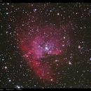 Pacman NGC281,                                Detlef Möller