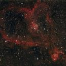 The Heart Nebula 11-4-13,                                Mo