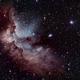 NGC7380 Wizard Nebula,                                Rich