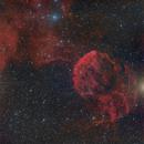 IC443 - Jellyfish Nebula - HaRGB,                                Roberto Botero