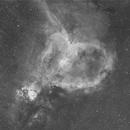 Heart Nebula in Ha, Durham, NC,                                Steven Christensen
