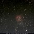 Messier 20 Trifid Nebula,                    Bruce Donzanti