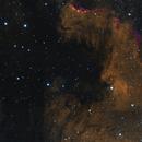 North America Nebula in HOS,                                Nirvaein