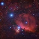 IC 434 & Barnard 33 (Horsehead Nebula),                                Tragoolchitr Jittasaiyapan