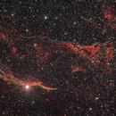 NGC 6960 - Veil nebula and Pickering triangle,                                Sagittarius_a