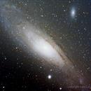 M31 - Galassia di Andromeda,                                Dario Iraci