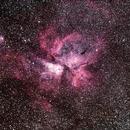 Eta Carina nebula NGC 3372,                                skysurfer
