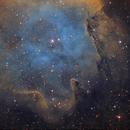 IC1848 Detail Hubble Palette,                                Emilio Zandarin
