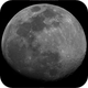 92% Illuminated Lunar Disc, BW, 05-04-2020,                                Martin (Marty) Wise