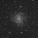 IC342 - Pseudo Luminence Data,                                jgibsonemu