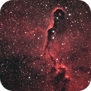 IC1396 - Elephant Trunk Ha-OIII,                                  basskep