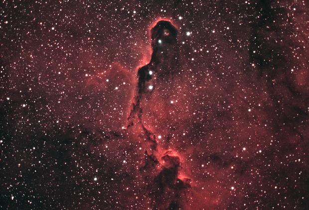 IC1396 - Elephant Trunk Ha-OIII,                                basskep