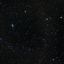 C/2017 T2 (PANSTARRS) walking near IC 2574 (Coddington's Nebula),                                Harold Freckhaus